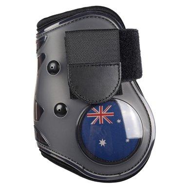 Hkm Strijklappen Flag Achterbenen Vlag Australie Cob/full