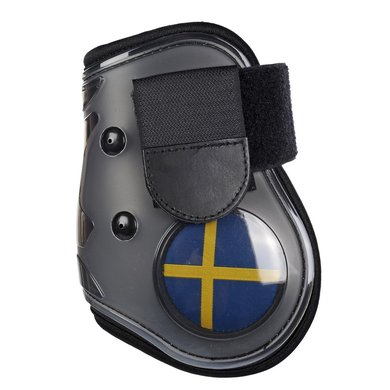 Hkm Strijklappen Flag Achterbenen Vlag Zweden Cob/full