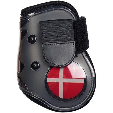 Hkm Strijklappen Flag Achterbenen Vlag Denemarken Cob/full