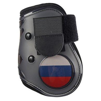 Hkm Strijklappen Flag Achterbenen Vlag Rusland Pony