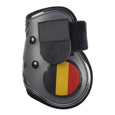 Hkm Strijklappen Flag Achterbenen Vlag Belgie Pony