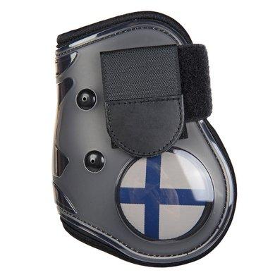 Hkm Strijklappen Flag Achterbenen Vlag Finland Pony