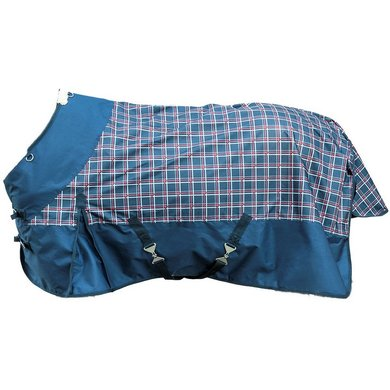 Hkm Weidedeken Professional Blok Summer Blauw/rood 115/165
