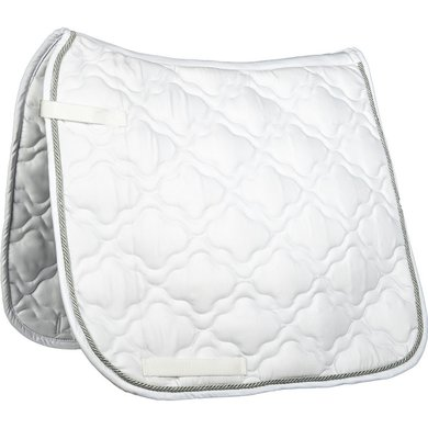 HKM Saddle Clothequestrian White PD