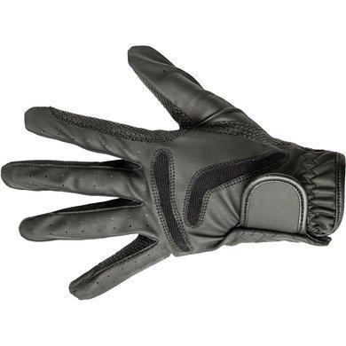 Hkm Rijhandschoenen Basic Zwart L