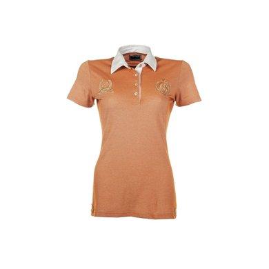 Lauria Garrelli Dames Poloshirt Golden Gate Oranje Xs