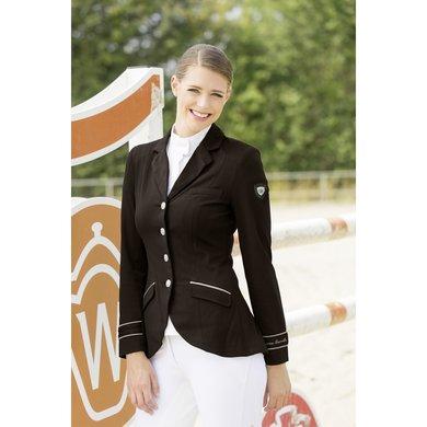 Lauria Garrelli Jersey Blazer Golden Gate Zwart 38