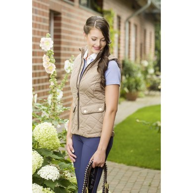 Lauria Garrelli Bodywarmer Golden Gate Taupe L