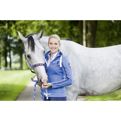 Hkm Pro Team Sweatvest International Donkerblauw 128