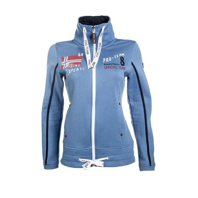 Hkm Pro Team Sweatvest International Middelblauw 140