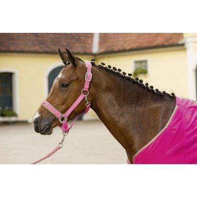 Little Sister Nylonhalster Sweetheart Taupe/oranje Pony