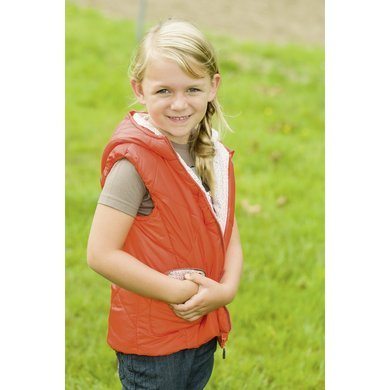 Little Sister Bodywarmer Sweetheart Oranje 110/116