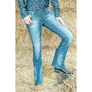 Hkm Western Jeans Bootcut Richmond Jeansblauw 76