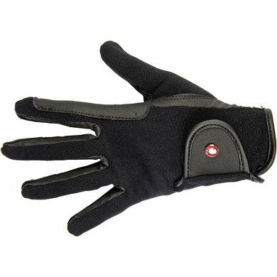 Hkm Rijhandschoenen Professional Soft Grip Zwart Xl