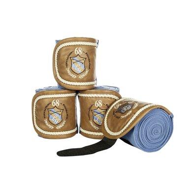 Lauria Garrelli Bandages Roma Set Van 4 Rookblauw 200 Cm