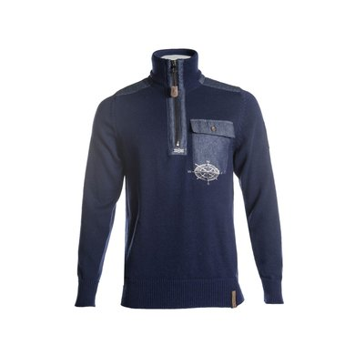 Kingston Trui Intenso Middelblauw M