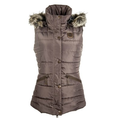 HKM Bodywarmer Copper Kiss Mocca XL