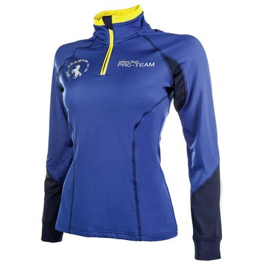 Hkm Pro Team Wedstrijdshirt Flash Kobaltblauw 152