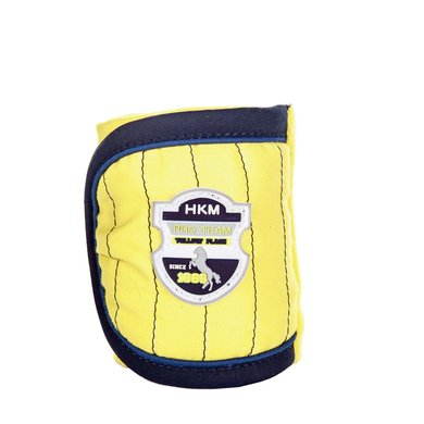 Hkm Pro Team Polarfleecebandages Flash Geel / Navy 200 Cm
