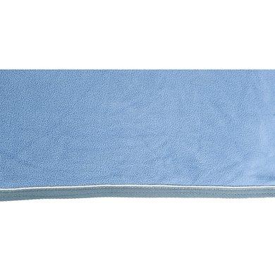 Hkm Zweetdeken Petrol/zilver 155/205