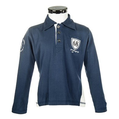 Little Sister Poloshirt King Donkerblauw 98/104