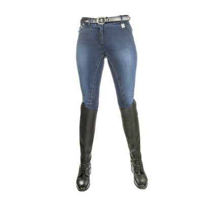 Hkm Rijbroek Stars & Stripes Denim Jeansblauw 20
