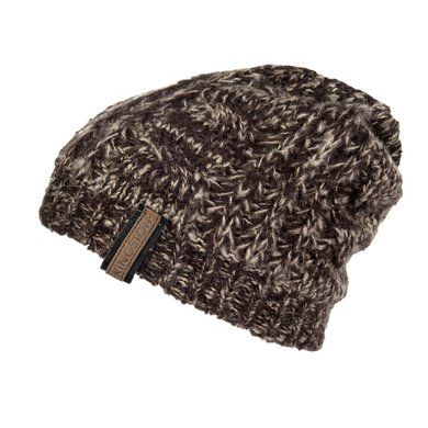 Kingston Beanie Intenso Bruin Gemeleerd Universele Maat