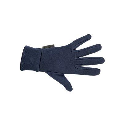 Hkm Rijhandschoenen Fleece Donkerblauw M