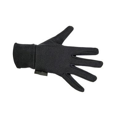 Hkm Rijhandschoenen Fleece Zwart S