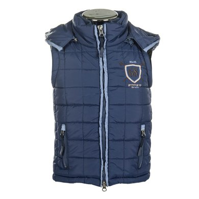 Little Sister Bodywarmer King Middelblauw 134/140