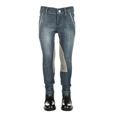 Little Sister Rijbroek Denim King Alos Knievlak Jblauw 134