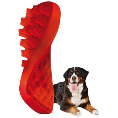 Pet+Me Dog Long Hair Brush Rood