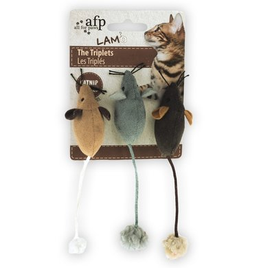 All For Paws Lambswool-the Triplets Catnip