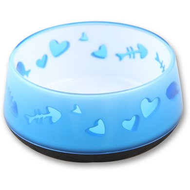 All For Paws Kitty Love Bowl Blauw