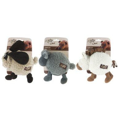 All For Paws Lambswool Ball Bouncer Horse/Dog/Monkey 15cm
