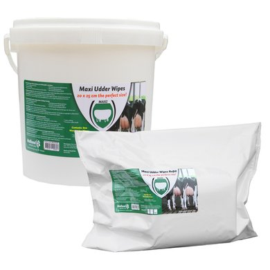 Excellent Maxi Udder Wipes Wet Bucket 20x25cm