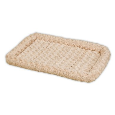 All For Paws Bolstered Super Soft Crate Mat XL