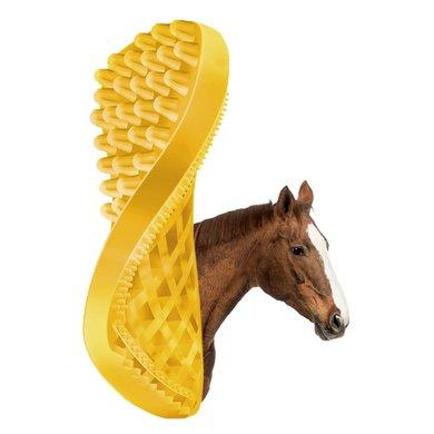 Pet+Me Horse Short Hair Brush Geel