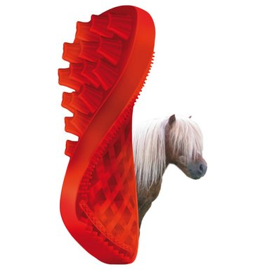 Pet+Me Horse Long Hair Brush Rood