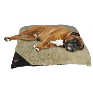 All For Paws Lambswool-classic Pillow Bed Bruin L