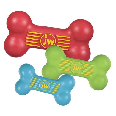JW Isqueak Bone Toy Small