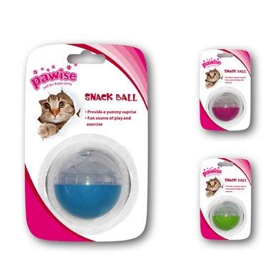 Pawise Cat Treat Ball Assorti 5cm
