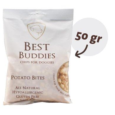 Best Buddies Chips Potato Bites Weiß 50g