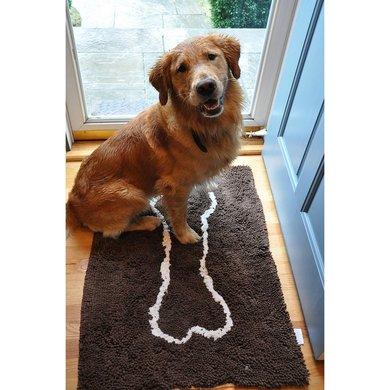 Agradi Soggy Doggy Doormat Schokoladen Braun L 66x91cm