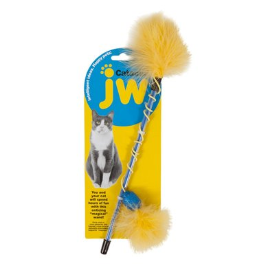 JW Cataction Feather Wand