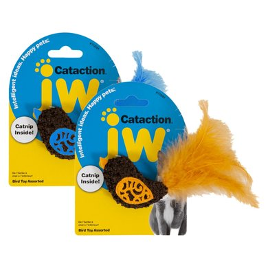 JW Cataction Bird Toy Assorti