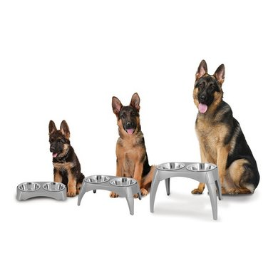 Ruffmaxx Adjustable Elevated Bowls