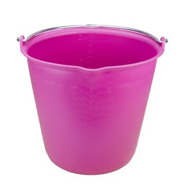 Agradi Bucket with measurement scale + pouring spout Roze