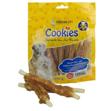 Hansepet Cookies Kipfilet Op Kauw Stick