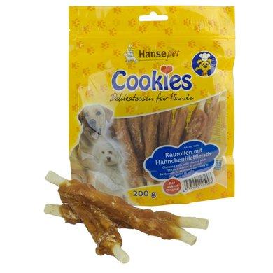 Hansepet Cookies Hähnchenfilet Auf Kaurolle